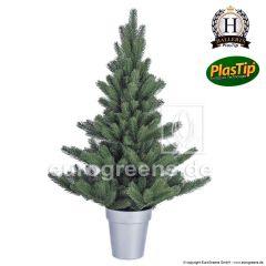 künstlicher Spritzguss Weihnachtsbaum Nordmanntanne Alnwick ca. 90cm